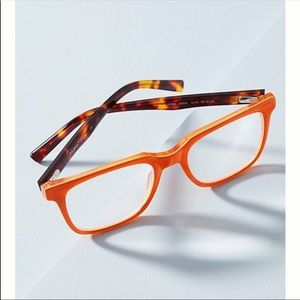 Anthropologie bright eyes Reading glasses no+1.25